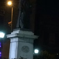 Photo taken at Lazoghly Sq. by Mostafa A. on 5/28/2016