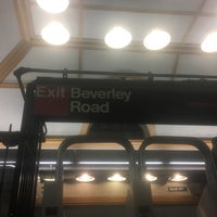 Photo taken at MTA Subway - Beverley Rd (Q) by Hope Anne N. on 1/26/2017