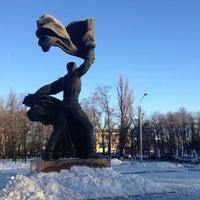 Photo taken at Памятник комсомольцам Орловщины by Евгений П. on 12/30/2012