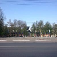 Photo taken at Памятник комсомольцам Орловщины by Евгений П. on 5/1/2014
