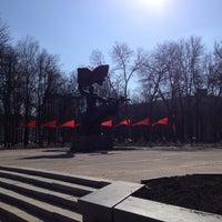 Photo taken at Памятник комсомольцам Орловщины by Евгений П. on 4/23/2013
