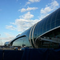 Photo taken at Domodedovo International Airport (DME) by Alexander B. on 8/26/2013