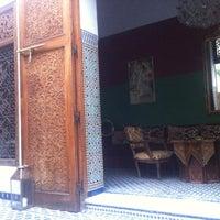 Photo taken at Riad 53 by Catarina V. on 10/6/2012