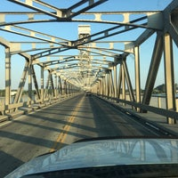 Photo taken at Rio Vista Bridge by Kitlyn X. on 8/12/2017