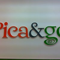 Photo taken at Pica&go by Carlos G. on 2/2/2013