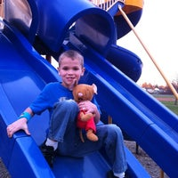 Photo taken at Volunteer Firemans Park by John K. on 11/11/2012
