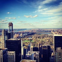 Photo taken at Top of The Rock Observation Deck by Ryan P. on 4/21/2013