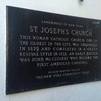 Photo taken at St. Joseph's Roman Catholic Church by Momar V. on 2/14/2016