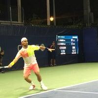 Photo taken at Court 13 - USTA Billie Jean King National Tennis Center by Momar V. on 9/2/2016