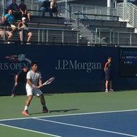 Photo taken at Court 16 - USTA Billie Jean King National Tennis Center by Momar V. on 9/4/2016