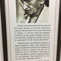 Photo taken at Gandhi Memorial Museum by Elif D. on 8/23/2017