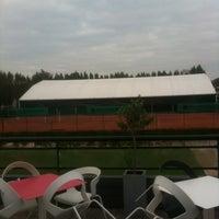 Photo taken at TCM   Tennisclub Merelbeke by Jeroen♛ on 10/11/2012