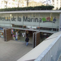 Photo taken at Mercat de la Marina by Reina M. on 3/6/2013
