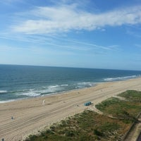 Photo taken at Ocean City Beach by Jimmy T. on 6/6/2013