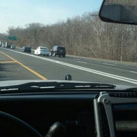 Photo taken at Long Island Expressway at Exit 36 by George D. on 1/8/2013