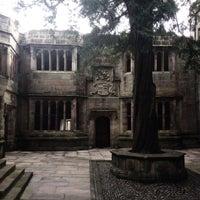 Photo taken at Skipton Castle by Gavin R. on 2/8/2014