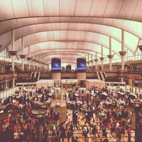 Photo taken at Denver International Airport (DEN) by Holly G. on 7/9/2013