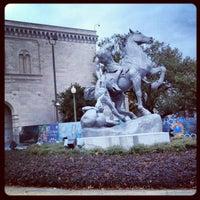 Photo taken at Chrysler Museum of Art by Reuben Z. on 12/7/2012