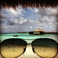 Photo taken at W Retreat & Spa - Maldives by Gökhan K. on 5/3/2013