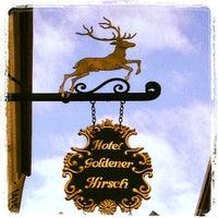 Das Foto wurde bei Hotel Goldener Hirsch von Gökhan K. am 9/30/2012 aufgenommen