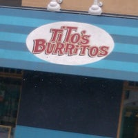 Photo taken at Tito's Burritos & Wings by Bri<3 on 4/18/2013