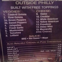 Photo taken at Philly Cheesesteak House by Strawberry B. on 8/7/2013