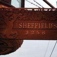 Photo taken at Sheffield's Beer & Wine Garden by Bree on 6/9/2013