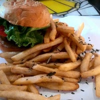 Photo taken at BGR - The Burger Joint by Andrea F. on 9/24/2012