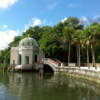 Photo taken at Vizcaya Museum and Gardens by Andrea F. on 9/20/2012