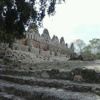 Foto tomada en Zona Arqueológica de Uxmal por Rousse m. el 4/13/2013
