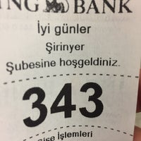Photo taken at ING Bank by Ali Ö. on 5/18/2017
