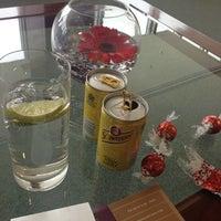 Photo taken at The Emirates Lounge by Simon W. on 6/6/2014