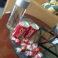 Photo taken at The Emirates Lounge by Simon W. on 6/30/2014