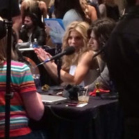 Photo taken at ACM Radio Row - artist appreciation lounge by Mike T. on 4/5/2014