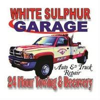 White Sulphur Garage