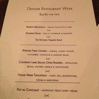 Photo taken at The Kitchen Denver by Jennifer D. on 2/26/2013