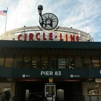 Photo taken at Circle Line Sightseeing Cruises by Jeff W. on 11/21/2012
