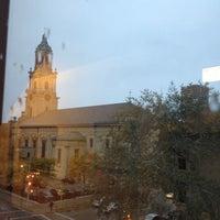 Photo taken at Humphrey Scottish Rite Masonic Center by Aimee M. on 10/11/2012