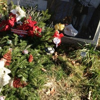 Photo taken at Moravian Cemetery by Eddie on 12/19/2012