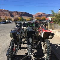 Photo taken at City of Moab by Rusty P. on 10/13/2016