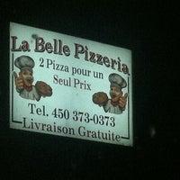 Photo taken at la belle pizzeria by Simon L. on 11/20/2013