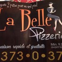 Photo taken at la belle pizzeria by Simon L. on 1/10/2014