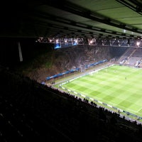 Photo taken at Estádio Municipal de Braga by David B. on 11/7/2012