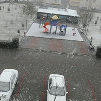 Photo taken at Aydınlar Sitesi Parkı by Miray O. on 12/31/2016
