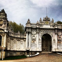 Photo taken at Dolmabahçe Palace by Rayyan S. on 4/21/2013
