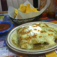 Photo taken at Tapatio's Restaurante Mexicano by Scott B. on 12/14/2013
