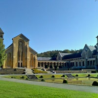 Photo taken at Abbaye Notre-Dame d'Orval by Pierre D. on 9/16/2012