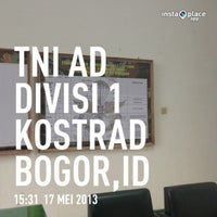 Photo taken at Divisi 1 Infanteri Kostrad Cilodong by Ch M. on 5/17/2013