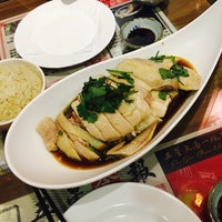 Foto scattata a 五星海南鸡饭 | Five Star Hainanese Chicken Rice da Iris Z. il 11/11/2016