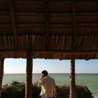 Photo taken at El Rincón de los Gallos by the Sea by Aniela M. on 7/12/2013